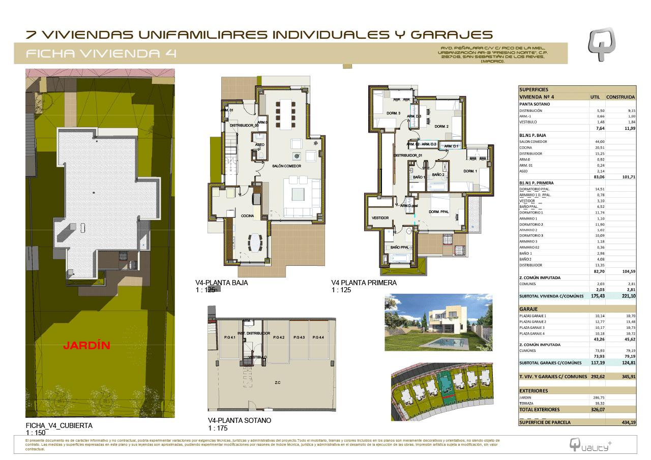 Chalet Quality-Fresno-Norte-planos-vivienda-4